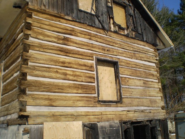 Log Home Cleaning: After
