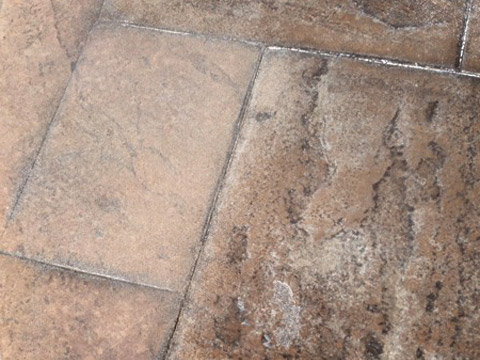 Sealer Removal from Stamped Concrete